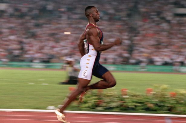 Michael johnson racing strategy in the 400 meters