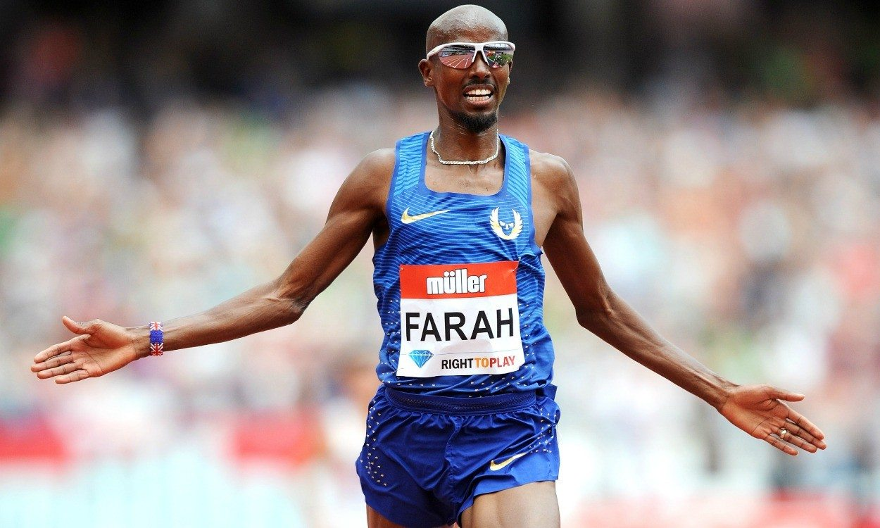 Mo farah finish anniversary games 1250x750